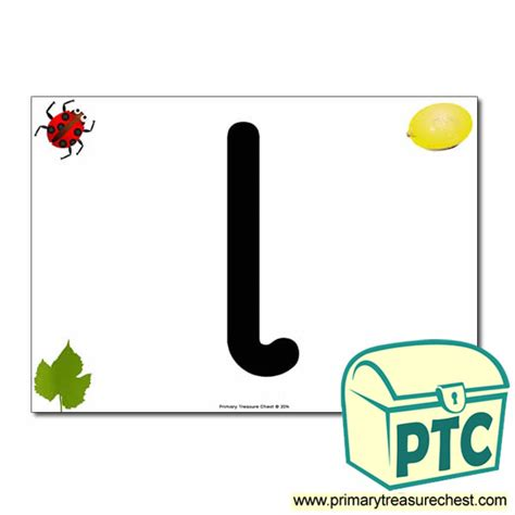 lowercase letter  poster  images primary