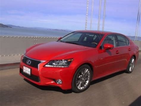 red lexus 2014 car tech 2014 lexus gs 450h youtube
