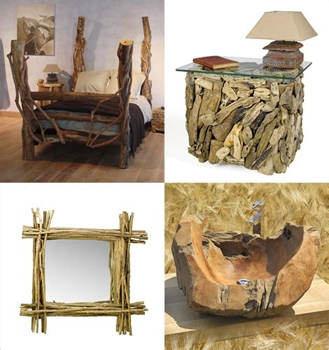 wood decor wooden rustic furniture by sda decoration so rustic and