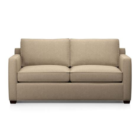 Crate And Barrel Sleeper Sofa Davis Sleeper Sofa Mink Crate And Barrel