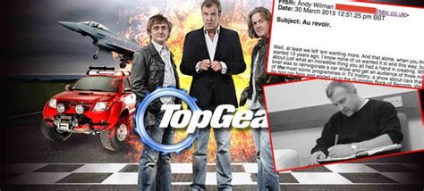 Andy Publicist Calls It Quits by Update Top Gear Producer Andy Wilman Calls It Quits