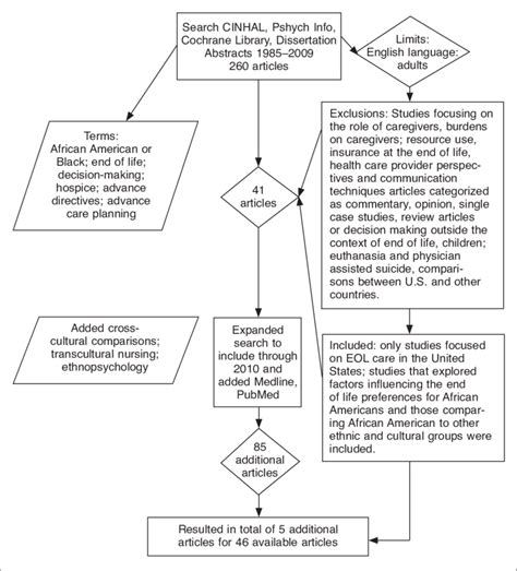 flow movie summary flow chart of literature review process