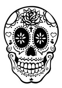 day of the dead skull template blackruby day of dead skull flickr photo