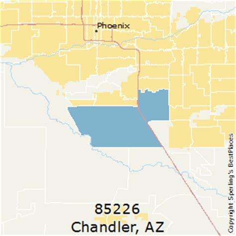 zip code map chandler az best places to live in chandler zip 85226 arizona