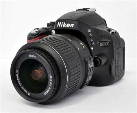 nikon d5100 16 2 mp digital dslr kit w af s dx 18 55mm 3 5 5 6g vr lens ebay