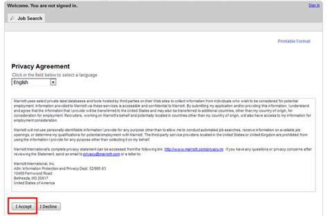 how to apply for marriott jobs online at marriott com careers