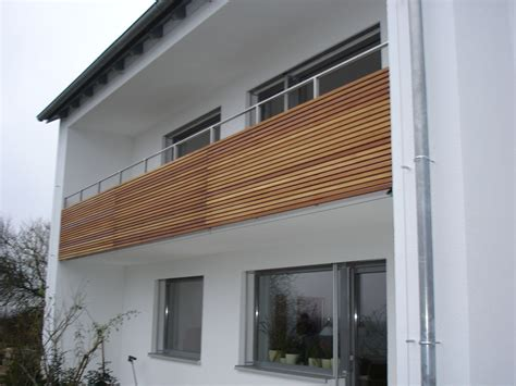 balkongeländer ideen beste werzalit balkon haus design ideen