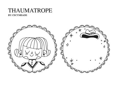 thaumatrope template printable thaumatrope traumatropo y zootropo