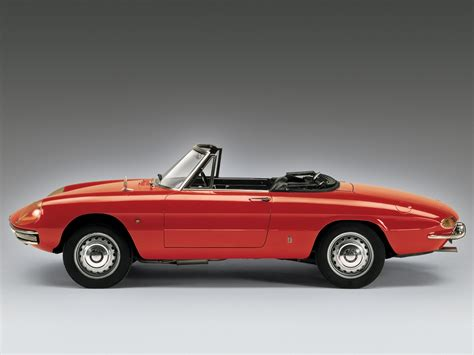 alfa romeo spider 1600 duetto wallpapers cool cars wallpaper