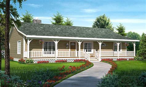 ranch floor plans with front porch vandenhaven country ranch home plan 038d 0783 house plans and more