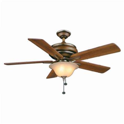 Discontinued Ceiling Fans hton bay bay island 52 in belcaro walnut ceiling fan