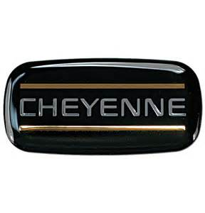cab emblem chevrolet cheyenne classic chevy truck parts