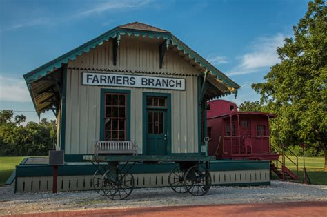 farmers branch tx official website railroad depot