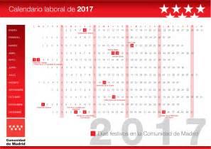 Calendario 2018 Madrid Calendarios Laborales 2017 Madrid Valladolid Catalu 241 A Y