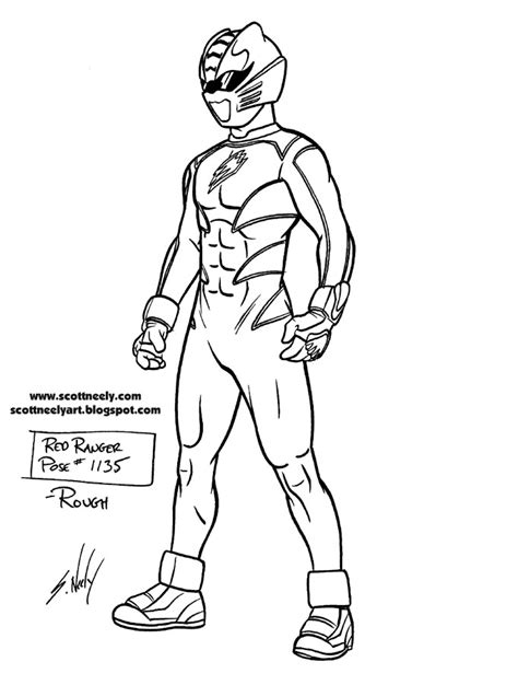 red ranger coloring pages coloring pages
