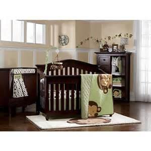 monkey crib bedding sets line pop monkey 7 crib bedding set line