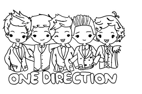 one direction coloring pages pdf one direction pages one direction members one