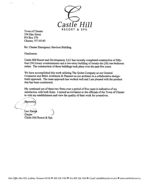 Reference Letter Housing Template Letters Of Reference Vms Construction
