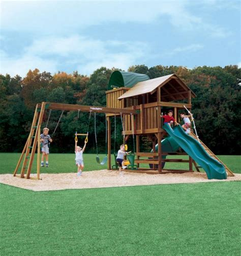 swing set landscaping landscaping ideas 201207