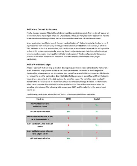 5 software gap analysis templates free sle exle