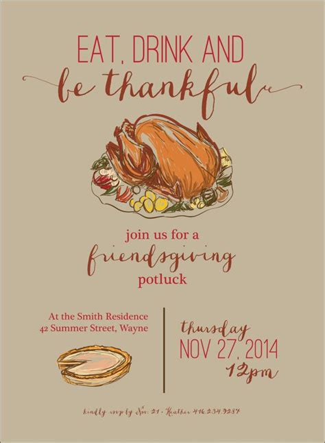 Best 25 Thanksgiving Invitation Ideas On Pinterest Friendsgiving Ideas Thanksgiving Friendsgiving Invitation Free Template