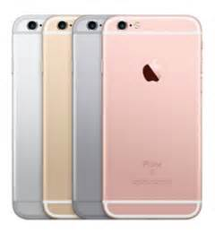 iphone 6s color iphone 6s model numbers