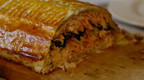 james martin home comforts recipe james martin cheat s salmon coulibiac recipe on home