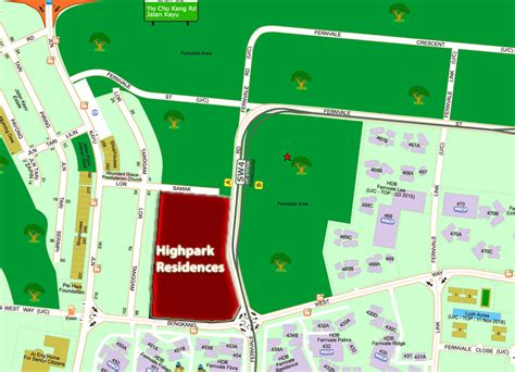 high park residences location