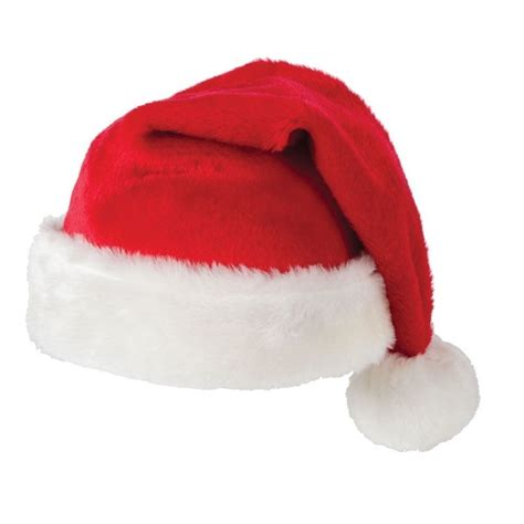 adult red father christmas velvet xmas hat santa party or
