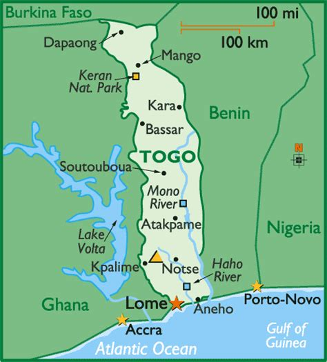 togo on a map togo caribbean thoughts