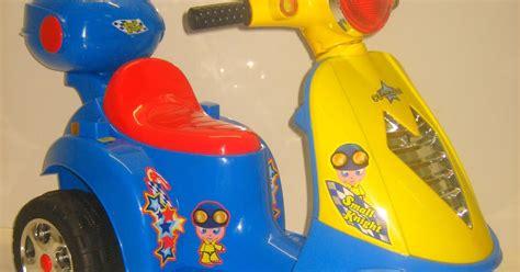 Motor Scoopy Motor Vespa Motorcycle Mainan Anak Scoopy tokomagenta a showcase of products motor mainan aki