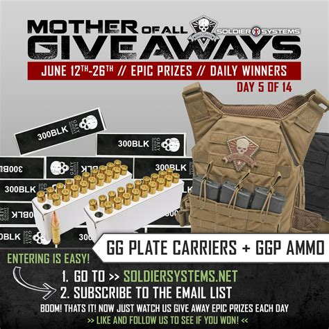 Daily Giveaway - grey ghost and soldier systems daily announce the mother