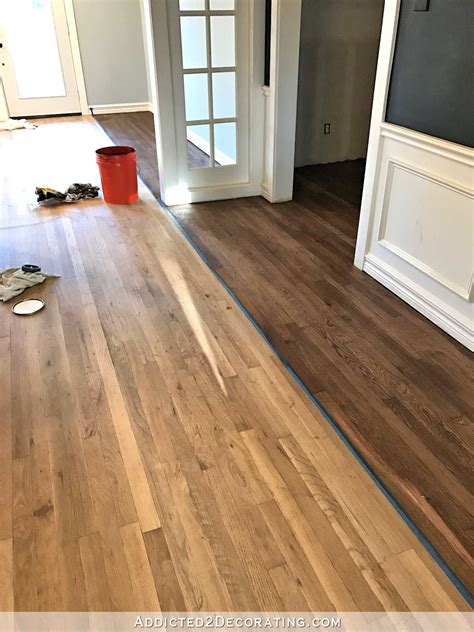 cleaning stained hardwood floors adventures in staining my oak hardwood floors