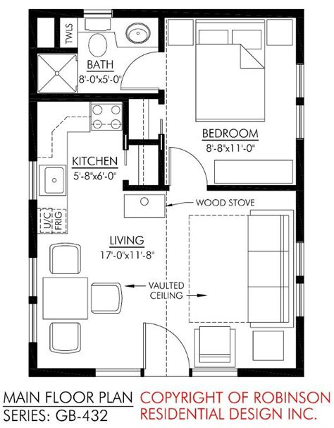 tiny cottages floor plans small guest house dream house pinterest