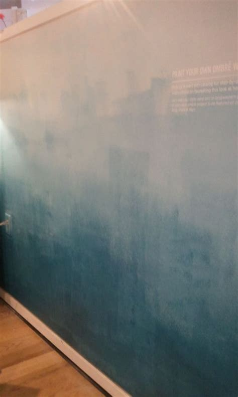 ombre wall ombre wall westelm making our new home pinterest