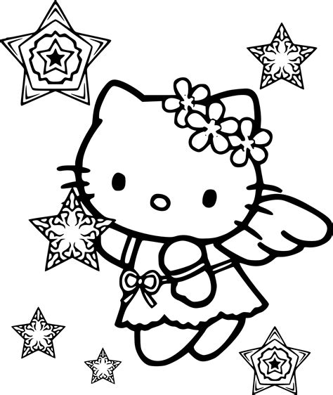 coloring pages of snow angels 92 snow angel coloring page hello kitty christmas