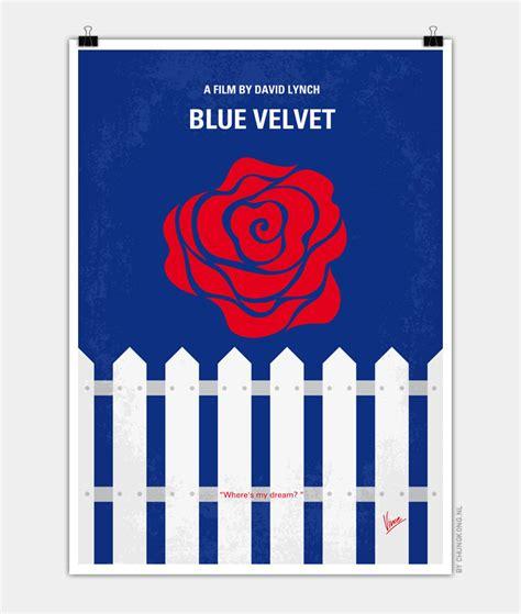 blue poster no170 my blue minimal poster chungkong