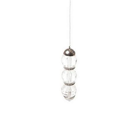 beaded gem design decorative funky bathrom ceiling light