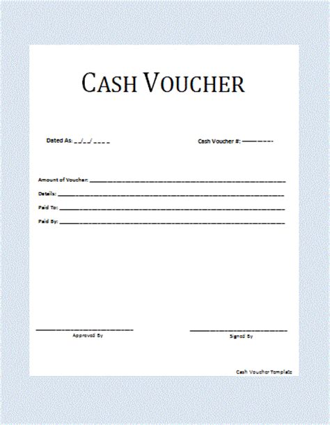 voucher check template ms word voucher template formal word templates