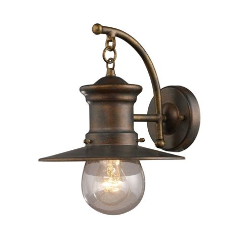 outside wall light fixtures 12 inch nautical outdoor wall light 42006 1