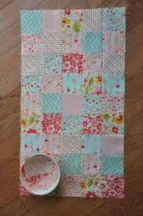 clover violet patchwork baby doll quilt and mini