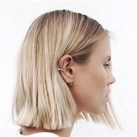 hairsuts with ears cut out and pushed up in back best 25 blonde short hair ideas on pinterest short