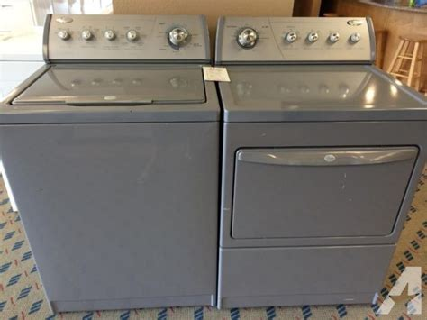 used washer and dryer sets whirlpool slate grey washer dryer set pair used for sale in tacoma washington classified