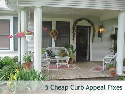 cheap curb appeal 5 cheap curb appeal fixes newlywed survival