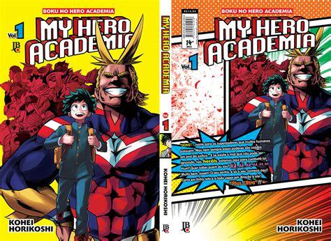 my academia vol 1 my academia 1 capa completa henshin