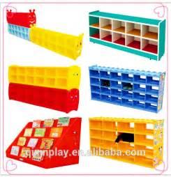 Plastic Book Shelf by Nursery School Furniture Plastic Book Shelf For Sale