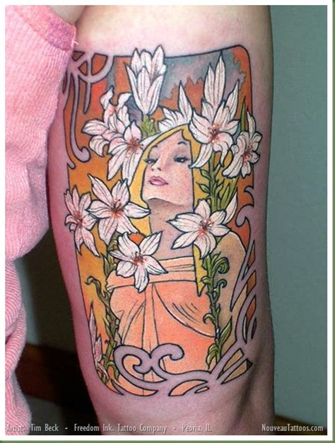 tattoo nouveau nouveau frame www imgkid the image kid