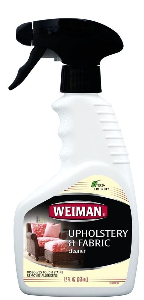 best upholstery fabric cleaner weiman upholstery fabric cleaner 12 fl oz 2 pack ebay