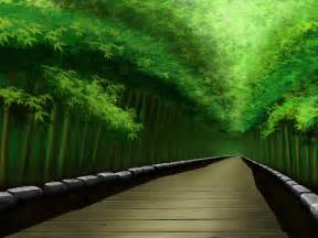 Japanese House Design wallpapers bamboo forest wallpapers