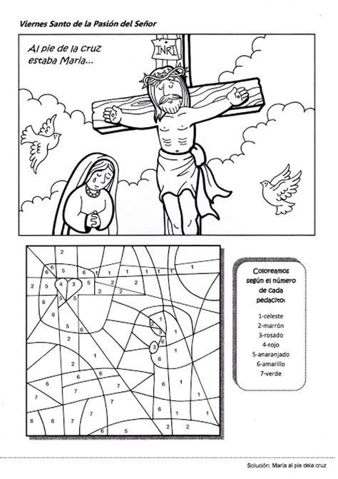imagenes viernes santo para ni os parroquia la inmaculada actividad viernes santo